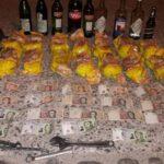 robo menores bebidas, comidas