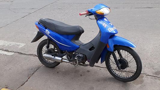 Niegan que la moto sea robada y dicen que compraron de buena fe