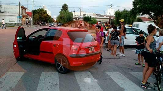 Fotos y video de los tres accidentes que marcaron la tarde del jueves en Villa María