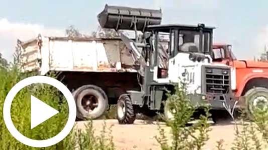 La extracción de áridos con máquinas sigue como si nada río arriba