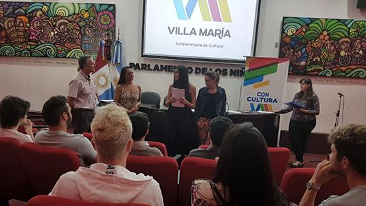 18 artistas de la ciudad recibieron aportes para sus proyectos