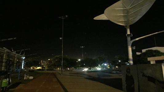 El Parque de la Vida quedó con varios sectores a oscuras