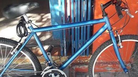 Busca la bicicleta que le robaron en la Terminal de Ómnibus