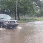 calle buenos aires inundada