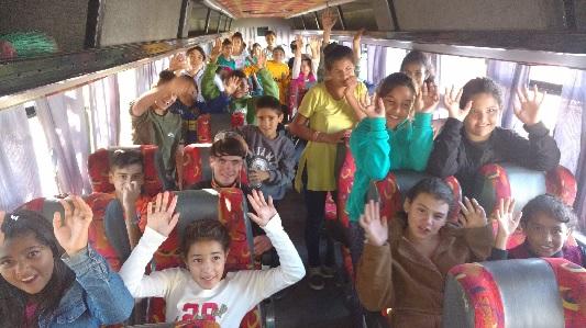Del barrio a las Sierras: 200 chicos de vacaciones en Alta Gracia