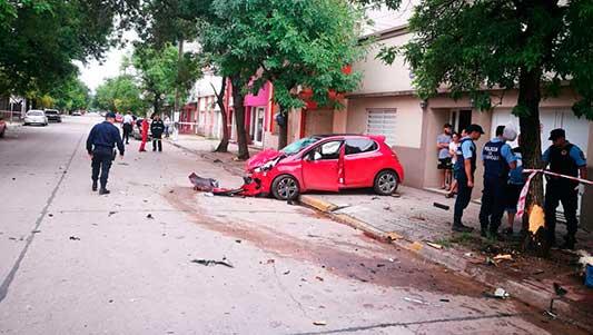 Choque fatal: los dos iban a alta velocidad y la mujer estaba alcoholizada