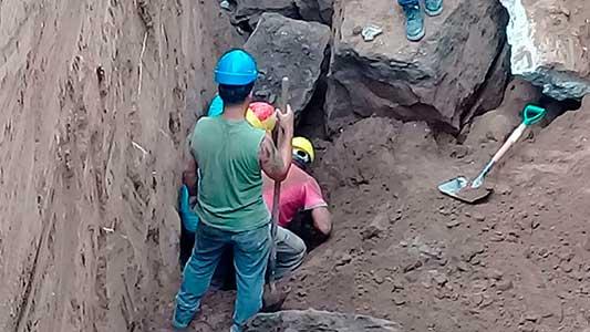 Derrumbe: Uocra había denunciado la obra y dice que no estaba apuntalada