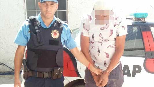 Agredió a su ex pareja, que vive con botón antipánico y custodia policial