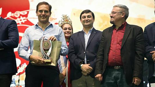 Cuatro potencias festivaleras unidas: se juntaron los principales de la provincia