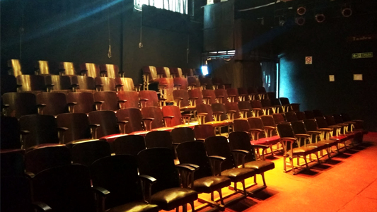 El Globo Rojo consiguió fomento de provincia para renovar la sala