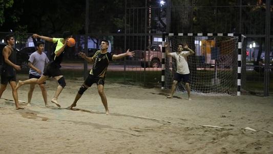 Se viene torneo de handball beach en las canchas de la costa