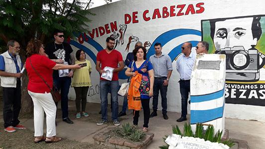 A 21 años de su muerte, homenajearon a José Luis Cabezas