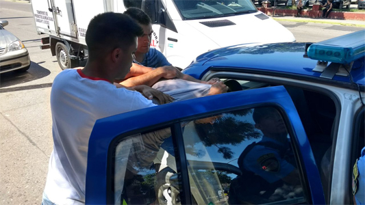 Detuvieron a un sujeto que había robado cajas fuertes en Río Cuarto