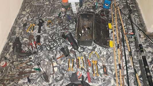 Chicos de 13 a 15 años sospechados de ser precoces ladrones en Etruria