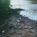 ultima playa rio costanera mal cruce con ruta 2