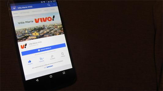 Cómo hacer para ver las noticias de VillaMaría VIVO en el inicio de Facebook