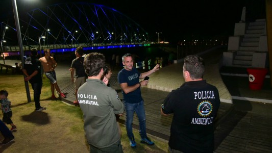 Operativos sorpresa sobre pescadores del Ctalamochita