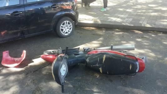 accidente general paz santa fe auto moto 1