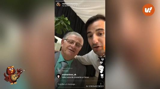 El divertido video de Nazareno Mottola en los camarines del Anfi
