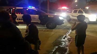 Fatal accidente en barrio San Martín con un niño
