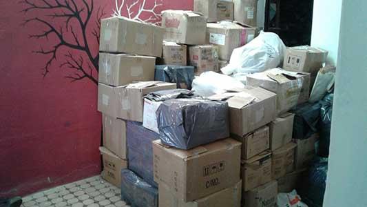Sale primer camión a la fundación de Jorge Rojas con ayuda para inundados
