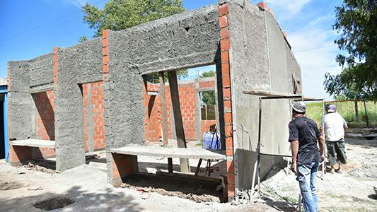 Avanza la obra para que el Jardín de la escuela Fray Chianea tenga su sala