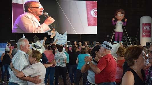 Miles de jubilados en el Festival de adultos mayores: las fotos