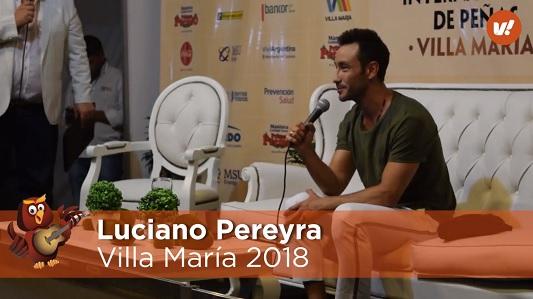 """Luciano Pereyra contento de llevar su """"vida al viento"""" por todo el país"""
