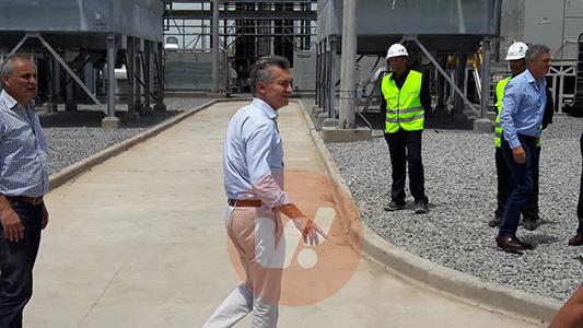 """Macri en MSU: """"Orgullo de dar electricidad a más hogares"""""""