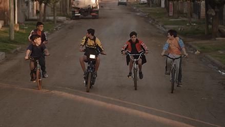Primeras imágenes de la película villamariense Mochila de plomo