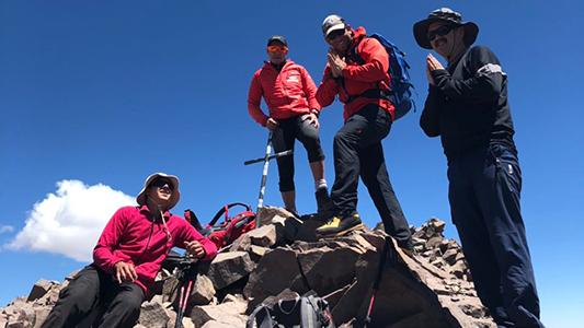 """Susana y el Aconcagua: """"Sabía que iría hasta que la montaña me dejara"""""""