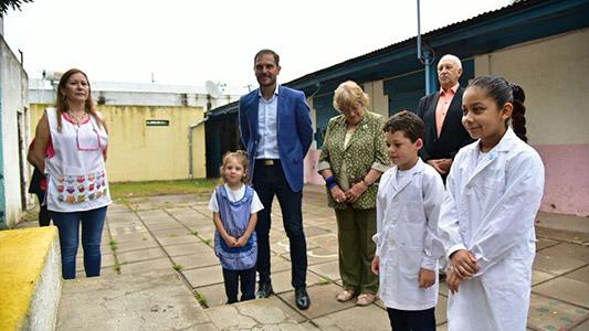 Martin Gill realizó la apertura de un nuevo año escolar
