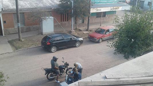 Un control de tránsito que llamó la atención de los vecinos