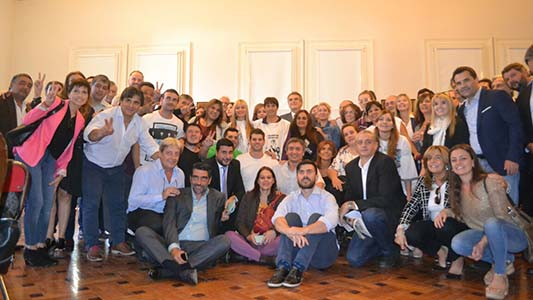 Trabajadores de la Fábrica Militar se reunieron con Cristina Kirchner