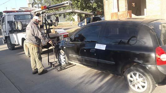 Secuestran auto que usaban para robar con inhibidores de alarmas