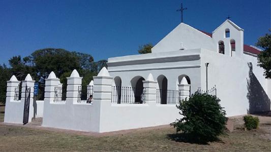 Recuperaron la Capilla más antigua del sur de Córdoba