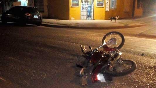 Motos siguen dando un triste festival de choques y heridos graves