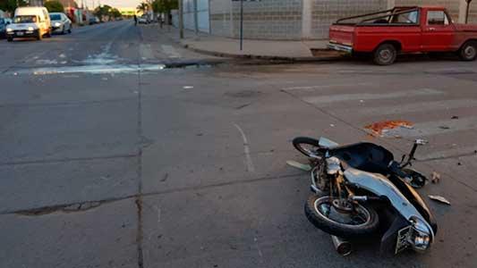 Falleció Lucas Ajona: había impactado en moto contra una camioneta