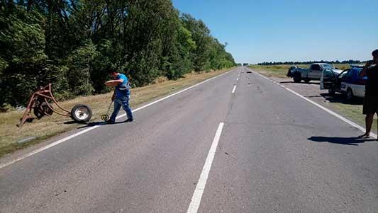 Despiden en Deán Funes restos del policía muerto en choque de ruta 9