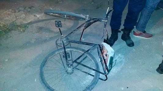 Ladrones de cosas viejas: tres detenido por meterse en una chacarita