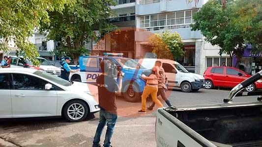 Los venían siguiendo y los atraparon en pleno centro: serían de Córdoba