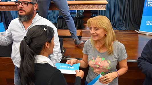 En Villa María esperan por la segunda cuota de los créditos Vida Digna
