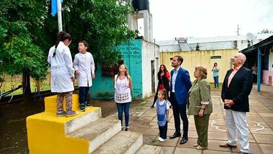 Cómo fue el inicio de clases oficial en la escuelas de Villa María