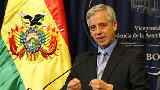 Alvaro García Linera da una conferencia en la Universidad Nacional de Villa María