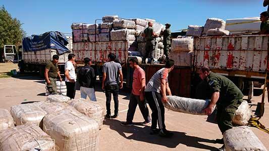 Incautaron ropa de contrabando en Las Varillas por $ 81 millones