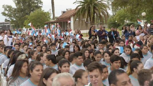 Arroyo Algodón, el pueblo donde Schiaretti inauguró el ciclo lectivo 2018