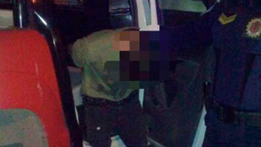 Ladrón de estéreos quiso hacerle el cuento a policías y le salió mal