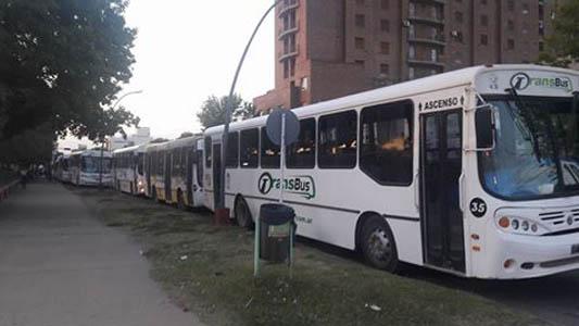 Las asambleas interrumpieron el normal funcionamiento del transporte público local