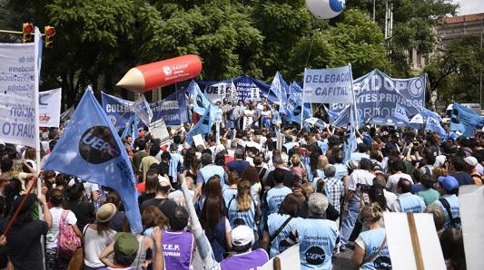 Uepc se suma al paro nacional de lunes y martes: Córdoba descontará el día