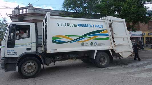 Villa Nueva con un solo día de recolección de basura en el finde largo
